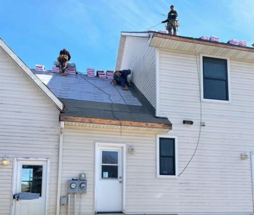 roof intsall